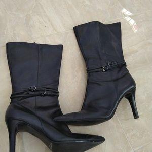Enzo Angiolini black boots size 10